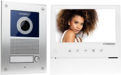 Video door intercom CDV-70H2 white / DRC-41UN flush-mounted set